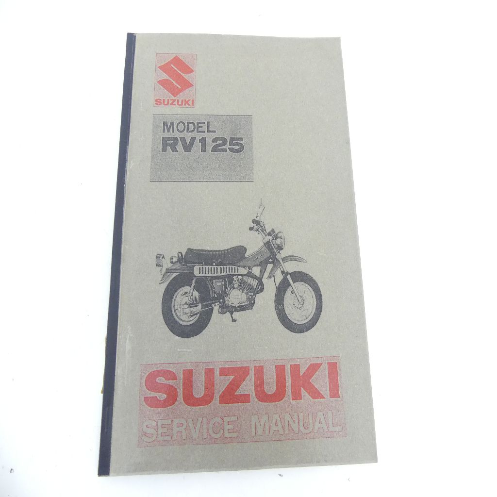 SUZUKI RV125 Service Manuel